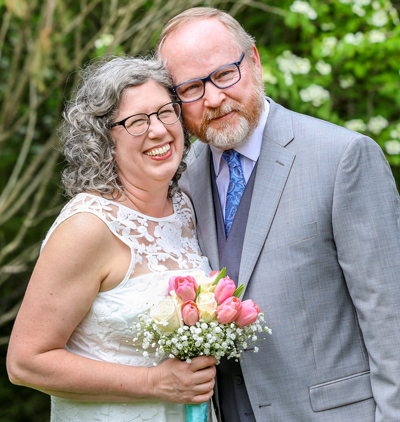 I got married! Lynn & Christian April 15, 2017