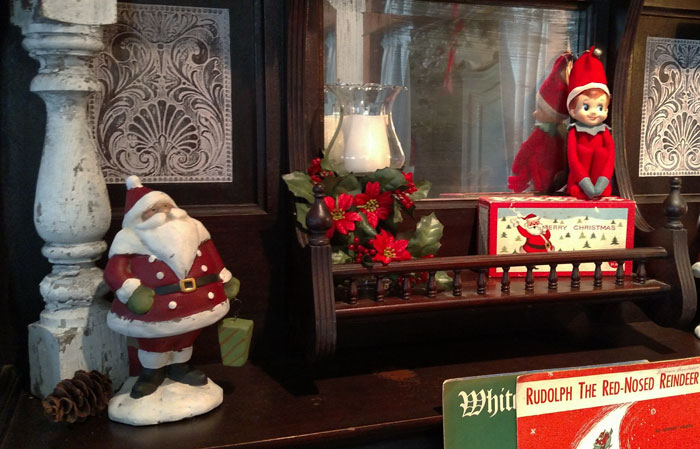 Christmas, Santa, Rockhaven B&B, Harpers Ferry